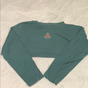 Life is Good Campfire Long Sleeve